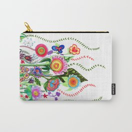FLOWERS IN MEXICO Carry-All Pouch