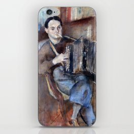 Jules Pascin Pierre Mac Orlan iPhone Skin