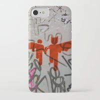 super heroes iPhone & iPod Cases featuring Super Heroes by Mauricio Santana