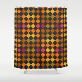 Tequila sunrise Shower Curtain