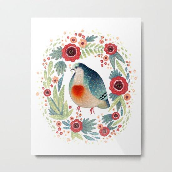 Fruit Dove I Metal Print