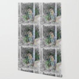 Artistic Animal Chipmunk 1 Wallpaper