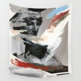 Untitled (Painted Composition 4) Wall Tapestry