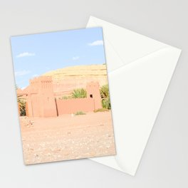 Sweet pink desert Stationery Cards