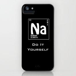 Lazy BLACK iPhone Case