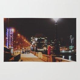 Night Stroll, London.  Rug