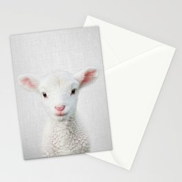 Lamb - Colorful Stationery Cards
