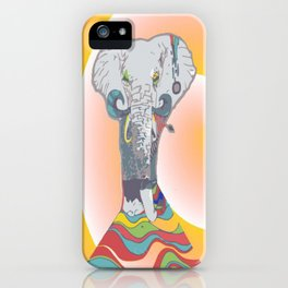 Sleeping Elephant iPhone Case