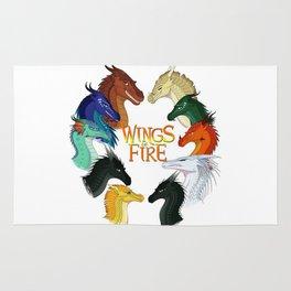 Love Wings of Fire Rug
