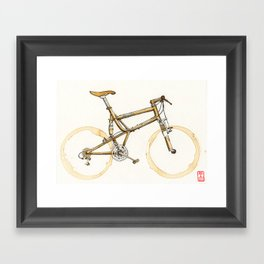 Coffee Wheels #16 Framed Art Print