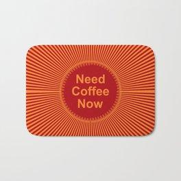 Coffee Now Bath Mat