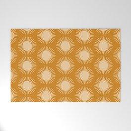 Golden Sun Pattern II Welcome Mat