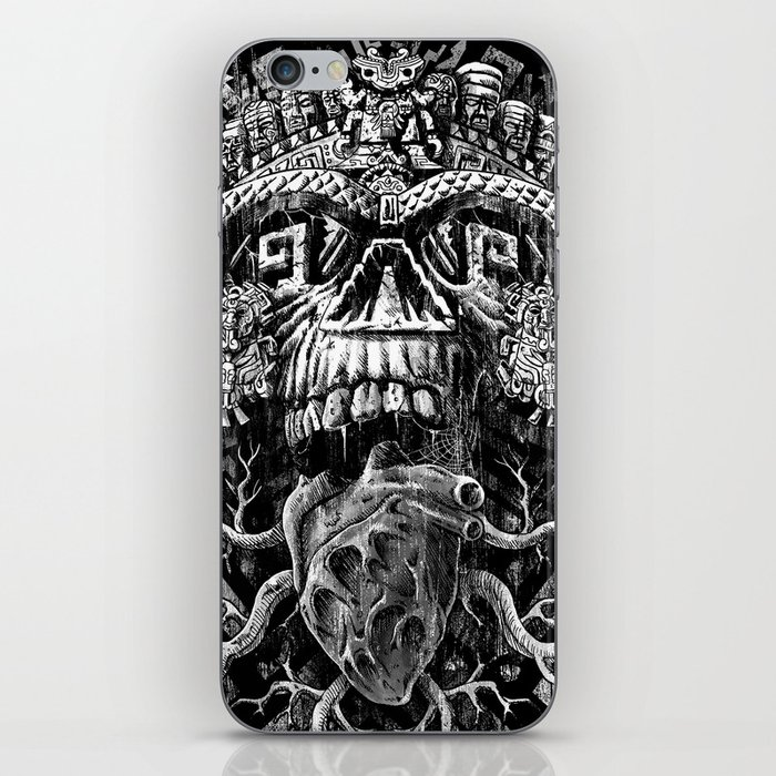 Aztec Skull iPhone Skin
