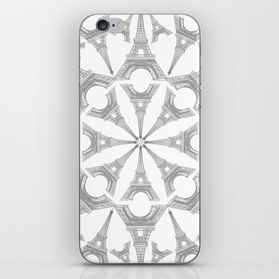 Paris in a Kaleidoscope iPhone & iPod Skin
