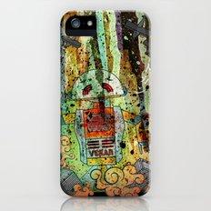 Vegan-Bot iPhone (5, 5s) Slim Case