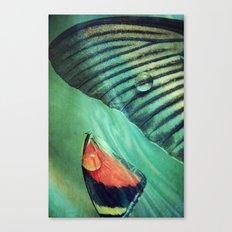 Tears grow Wings 2 Canvas Print