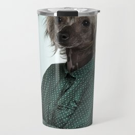 Chinese hairless crested dog Travel Mug