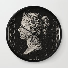 The Penny Black Postage Stamp Wall Clock