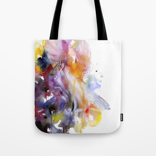 the listener Tote Bag