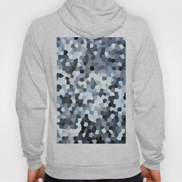 Blue Geometric Confetti Geometic Abstracts Hoody