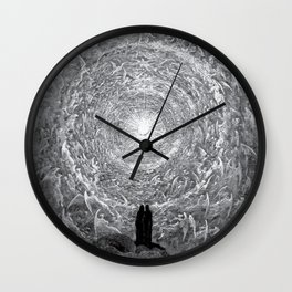 Gustave Dore: The Empyrean Wall Clock