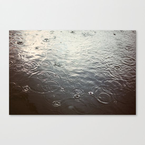 Raindrop #1 Canvas Print