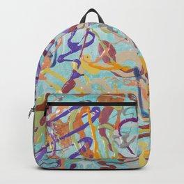 Shamanic Painting 08 Backpack
