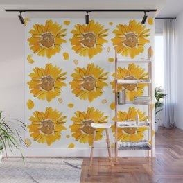 Sunny Sunflowers Wall Mural