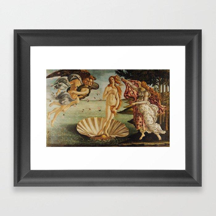 The Birth of Venus by Sandro Botticelli Gerahmter Kunstdruck