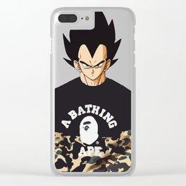 vegeta bape Clear iPhone Case