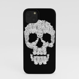 Skulls Are For Pussies iPhone Case
