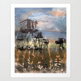 Maunsell Forts Art Print