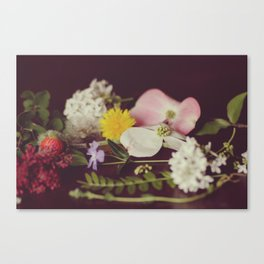 Spring Sampler Still Life Pt. 1 Canvas Print