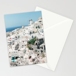 Oia, Santorini, Greece Stationery Cards