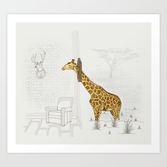 Natural Decorative Thophy Art Print