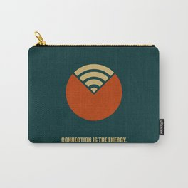 Lab No. 4 - Connection Is The Energy Corporate Start-Up Quotes Poster Carry-All Pouch