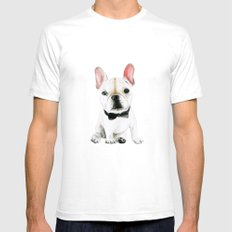 Little Gentleman LARGE White Mens Fitted Tee