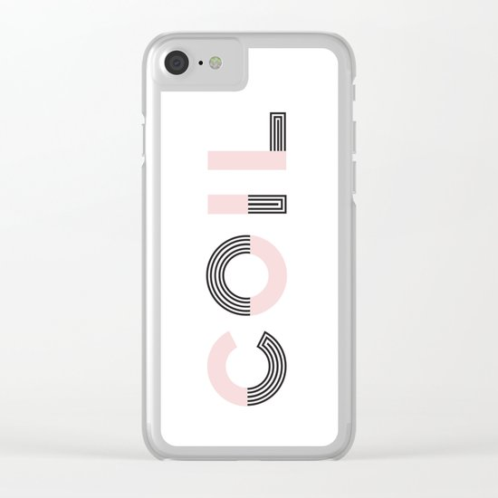 COIL Clear iPhone Case