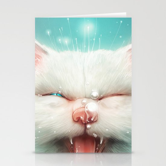 The Water Kitty Stationery Cards