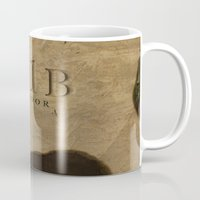 221b Mugs featuring No. 6. 221B by F. C. Brooks