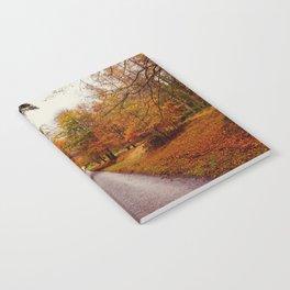 Autumn Road II Notebook