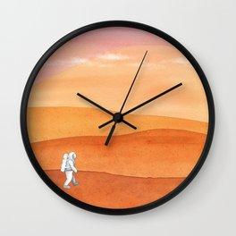 Olympus Mons Wall Clock