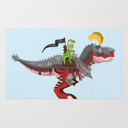 Dino Knight T-Rex II Rug