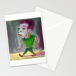 El pibe del gimnasio por Diego Manuel Stationery Cards