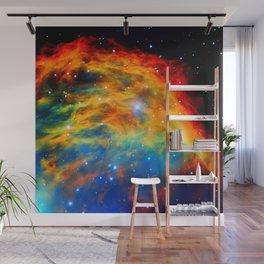 Rainbow Medusa Nebula Wall Mural