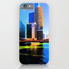 Clark St. Bridge, Chicago (Pop) Slim Case iPhone 6s