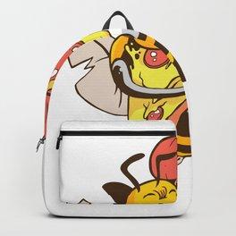 Bienen lieben Pizza Backpack