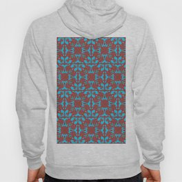 Abstract flower pattern 6b ver. 2 Hoody