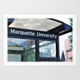 Marquette Art Print