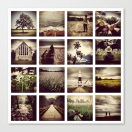 Instadeck South England Canvas Print